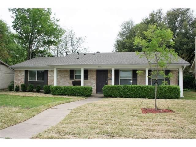 735 Kingswood Avenue, Richardson, TX 75080 (MLS #14208881) :: Tenesha Lusk Realty Group