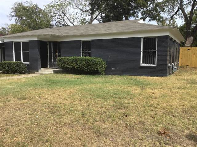 3967 Hatcher Street, Fort Worth, TX 76119 (MLS #14208900) :: RE/MAX Town & Country