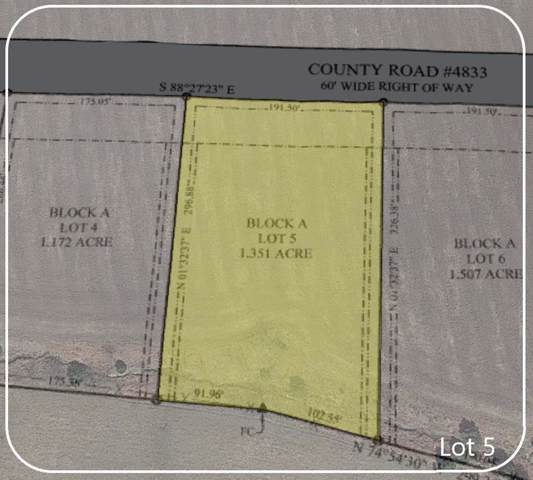 (Lot 5) 368 County Road 4833, Leonard, TX 75456 (MLS #14208923) :: Roberts Real Estate Group