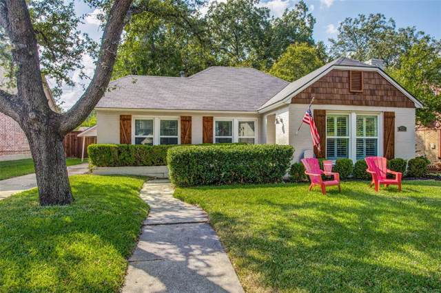 4221 Camden Avenue, Dallas, TX 75206 (MLS #14208936) :: Roberts Real Estate Group