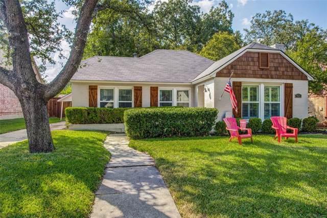 4221 Camden Avenue, Dallas, TX 75206 (MLS #14208936) :: RE/MAX Pinnacle Group REALTORS