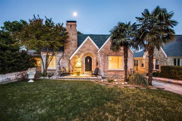 6902 Vivian Avenue, Dallas, TX 75223 (MLS #14208960) :: All Cities Realty