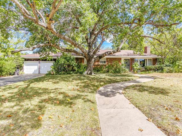 2529 Highview Terrace, Fort Worth, TX 76109 (MLS #14210046) :: Lynn Wilson with Keller Williams DFW/Southlake