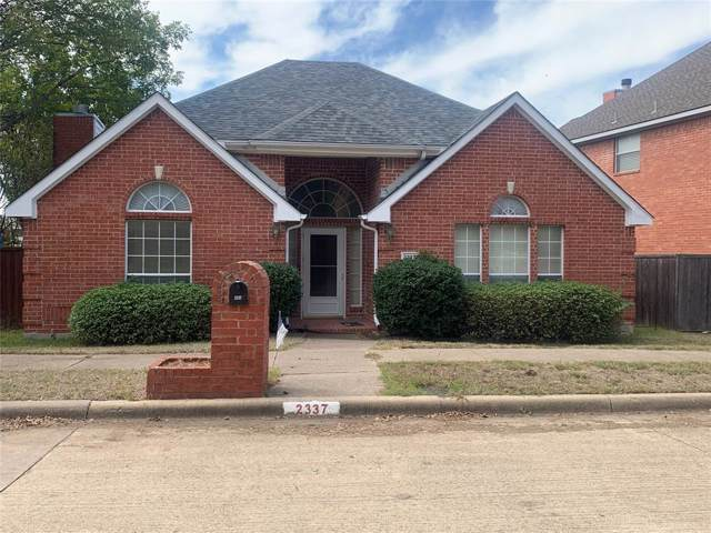 2337 Havard Oak Drive, Plano, TX 75074 (MLS #14210063) :: RE/MAX Town & Country