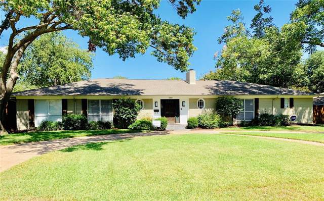 3841 Whitehall Drive, Dallas, TX 75229 (MLS #14210066) :: Lynn Wilson with Keller Williams DFW/Southlake