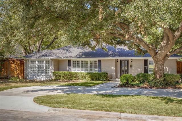 6823 Tulip Lane, Dallas, TX 75230 (MLS #14210288) :: All Cities Realty