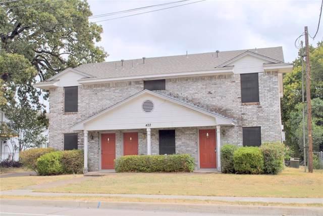 422 N Dallas Avenue, Lancaster, TX 75146 (MLS #14210323) :: Lynn Wilson with Keller Williams DFW/Southlake