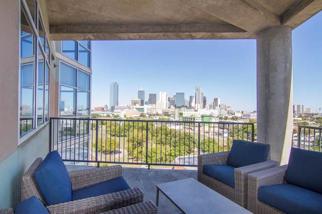 1001 Belleview Street #701, Dallas, TX 75215 (MLS #14210368) :: All Cities Realty