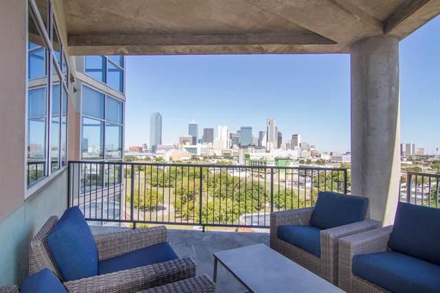 1001 Belleview Street #701, Dallas, TX 75215 (MLS #14210368) :: Baldree Home Team