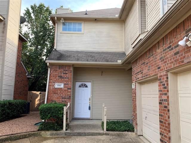 2502 Plumgrove Circle, Arlington, TX 76006 (MLS #14210379) :: Lynn Wilson with Keller Williams DFW/Southlake