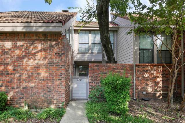 18240 Midway Road #1704, Dallas, TX 75287 (MLS #14210394) :: Hargrove Realty Group