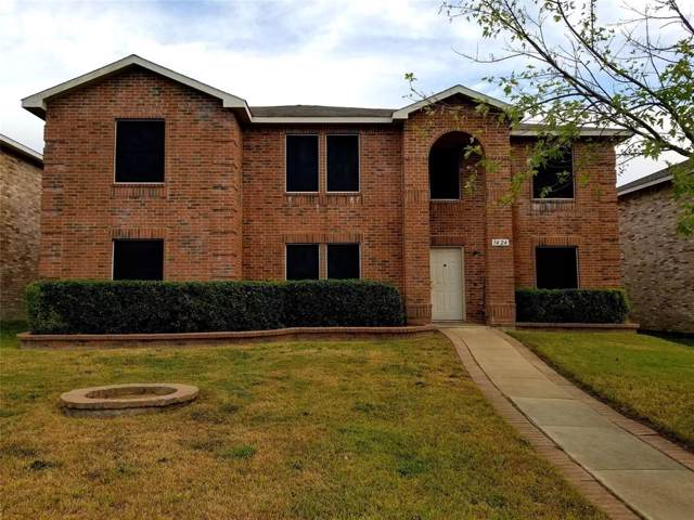 1424 Daisy Drive, Lancaster, TX 75134 (MLS #14210403) :: Tanika Donnell Realty Group