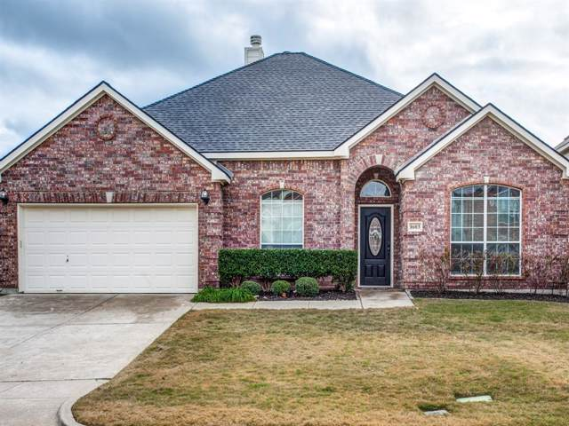 1603 Chateau Lane, Mansfield, TX 76063 (MLS #14210417) :: Century 21 Judge Fite Company