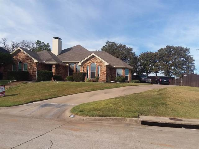 3241 David Drive, Hurst, TX 76054 (MLS #14210442) :: Lynn Wilson with Keller Williams DFW/Southlake