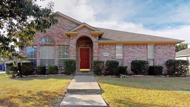 3214 Creekside Drive, Sachse, TX 75048 (MLS #14210503) :: RE/MAX Town & Country