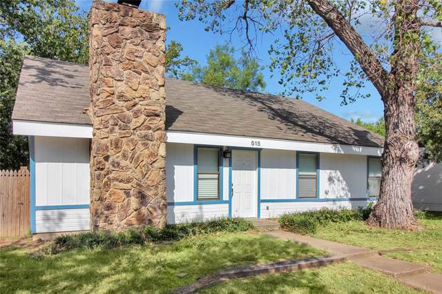 515 Campbell Lane, Denton, TX 76209 (MLS #14210512) :: The Chad Smith Team