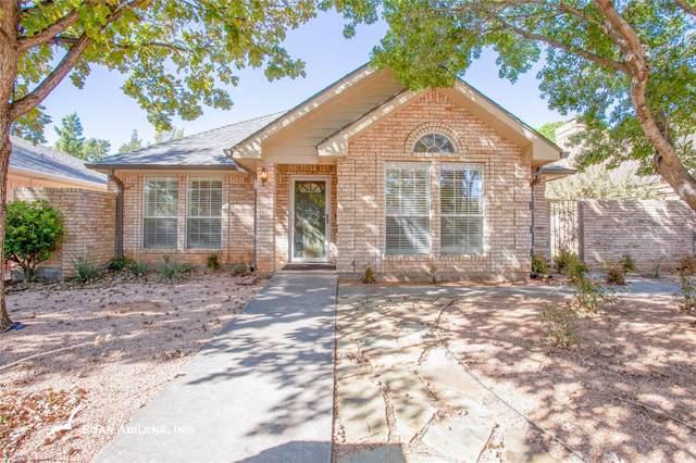 2526 Sunnibrook Court, Abilene, TX 79601 (MLS #14210534) :: The Welch Team