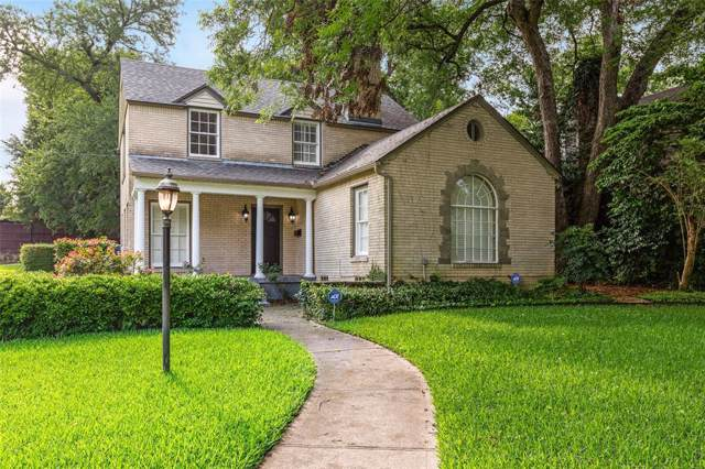 1154 N Edgefield Avenue, Dallas, TX 75208 (MLS #14210536) :: RE/MAX Town & Country
