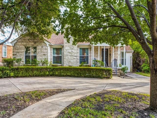 5214 Mccommas Boulevard, Dallas, TX 75206 (MLS #14210551) :: The Chad Smith Team