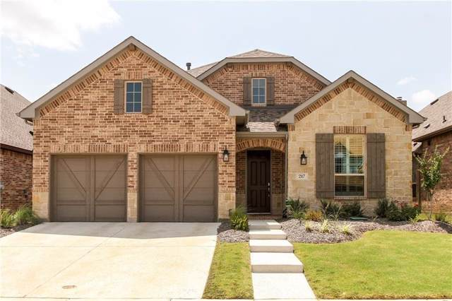 217 Sunrise Drive, Argyle, TX 76226 (MLS #14210554) :: Dwell Residential Realty