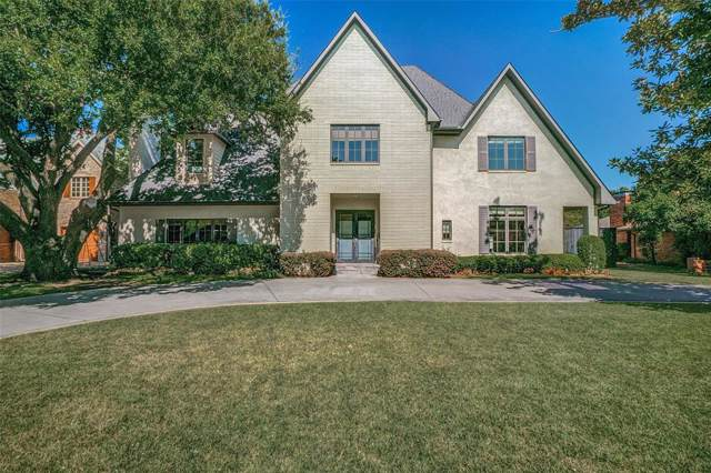 6147 Northaven Road, Dallas, TX 75230 (MLS #14210628) :: Robbins Real Estate Group