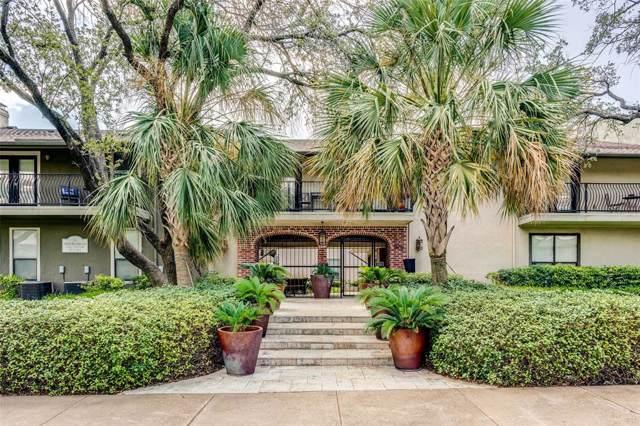 5816 Birchbrook Drive #215, Dallas, TX 75206 (MLS #14210862) :: Lynn Wilson with Keller Williams DFW/Southlake