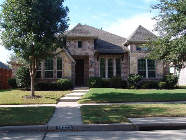 16225 Mapleshade Drive, Frisco, TX 75035 (MLS #14210925) :: Century 21 Judge Fite Company