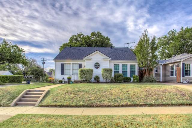 3901 Linden Avenue, Fort Worth, TX 76107 (MLS #14210933) :: Team Tiller
