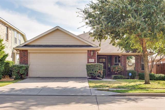 1516 Canary Drive, Little Elm, TX 75068 (MLS #14211030) :: All Cities Realty