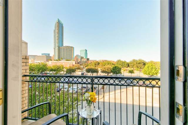201 W Lancaster Avenue #309, Fort Worth, TX 76102 (MLS #14211048) :: Real Estate By Design