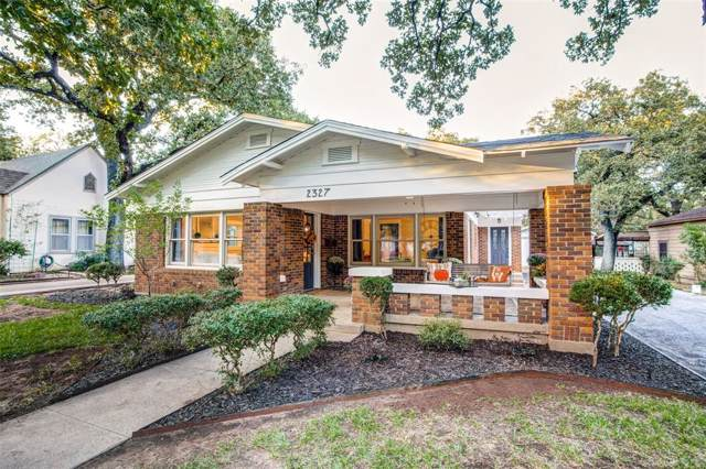 2327 Marigold Avenue, Fort Worth, TX 76111 (MLS #14211103) :: Lynn Wilson with Keller Williams DFW/Southlake