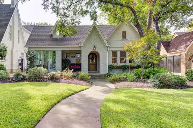 5346 Monticello Avenue, Dallas, TX 75206 (MLS #14211190) :: Baldree Home Team