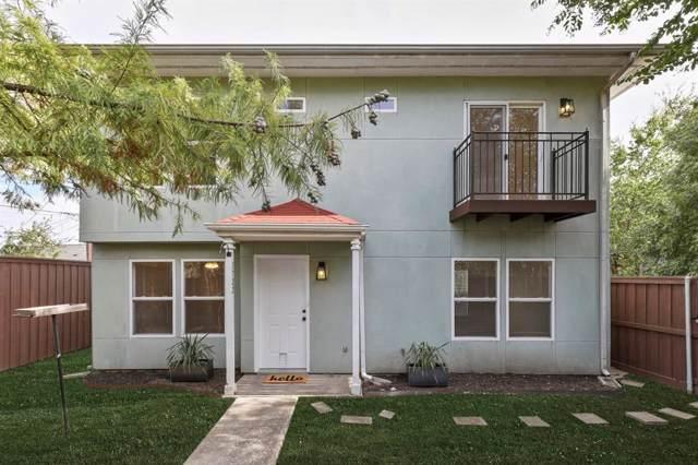 1722 N Prairie Avenue, Dallas, TX 75204 (MLS #14211240) :: The Chad Smith Team