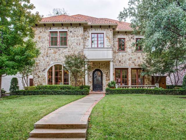 4217 Colgate Avenue, University Park, TX 75225 (MLS #14211254) :: NewHomePrograms.com LLC