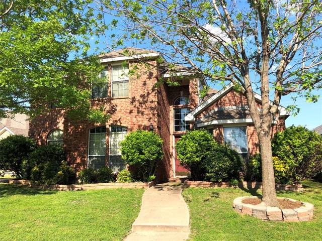 1009 Redbud Drive, Allen, TX 75002 (MLS #14211320) :: Tanika Donnell Realty Group