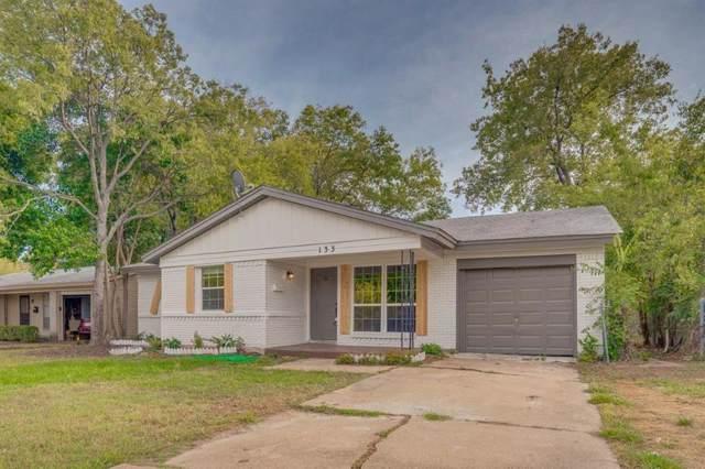 133 W Cober Drive, Grand Prairie, TX 75051 (MLS #14211373) :: RE/MAX Town & Country