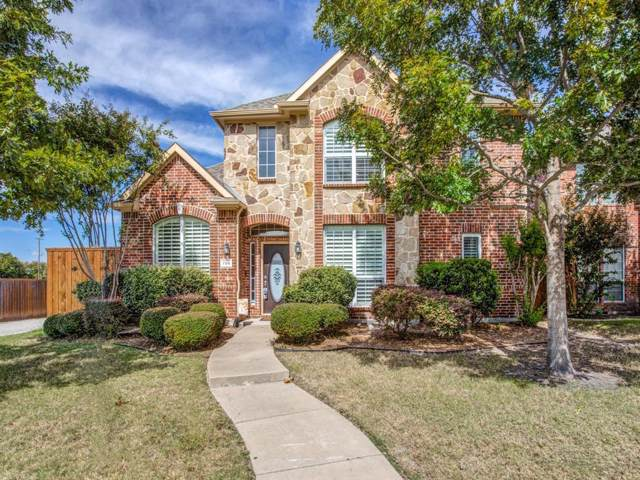 706 Gold Camp Road, Frisco, TX 75033 (MLS #14211399) :: The Real Estate Station