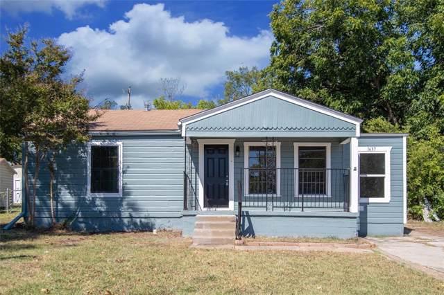 1637 Long Avenue, River Oaks, TX 76114 (MLS #14211449) :: Lynn Wilson with Keller Williams DFW/Southlake