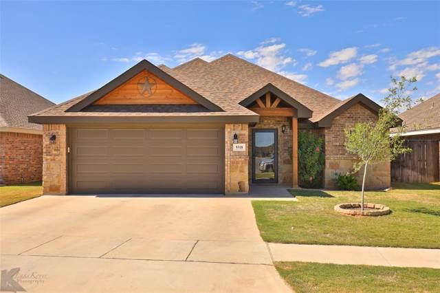 5318 Catclaw Drive, Abilene, TX 79606 (MLS #14211481) :: Team Hodnett