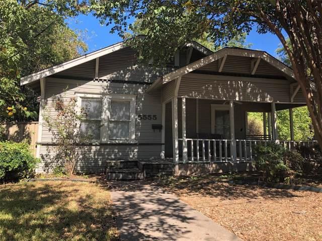 5555 Goodwin Avenue, Dallas, TX 75206 (MLS #14211623) :: Ann Carr Real Estate