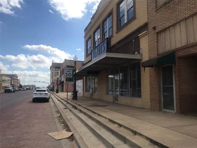 223 W Walker Street, Breckenridge, TX 76424 (MLS #14211672) :: The Tonya Harbin Team