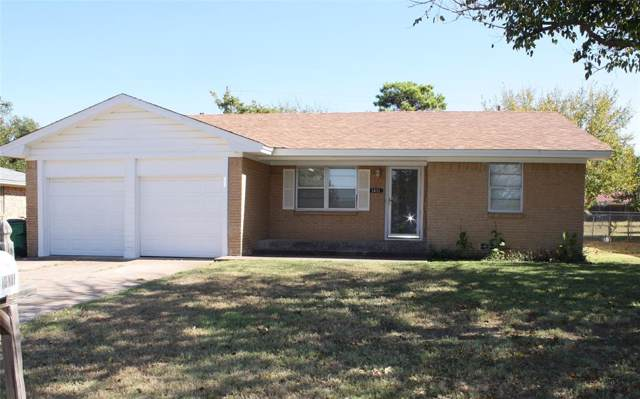 1411 Jackson Street, Bowie, TX 76230 (MLS #14211707) :: Vibrant Real Estate