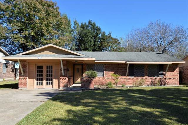 1412 Alpine Street, Greenville, TX 75401 (MLS #14211763) :: Lynn Wilson with Keller Williams DFW/Southlake