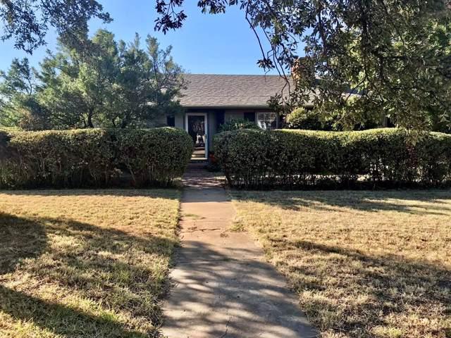 1005 E Lindsey Street, Breckenridge, TX 76424 (MLS #14211812) :: The Tonya Harbin Team