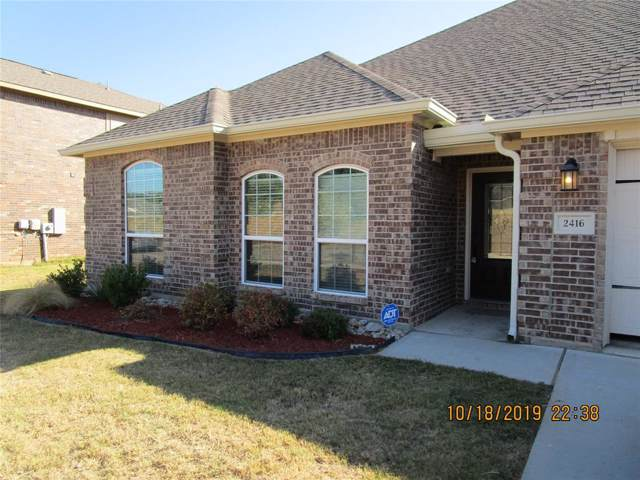 2416 Longmeadow Street, Denton, TX 76209 (MLS #14211861) :: The Mitchell Group