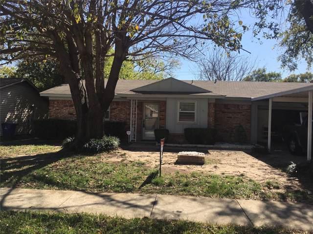 5804 Shipp Drive, Watauga, TX 76148 (MLS #14211925) :: Dwell Residential Realty