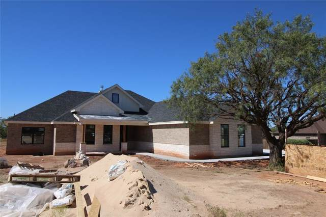 118 Chardonnay Way, Abilene, TX 79602 (MLS #14211942) :: Maegan Brest | Keller Williams Realty
