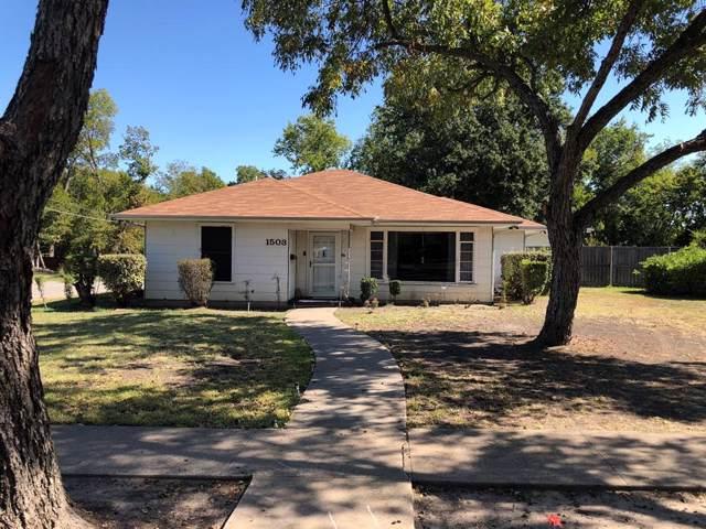 1503 Walnut Street, Greenville, TX 75401 (MLS #14211998) :: Lynn Wilson with Keller Williams DFW/Southlake