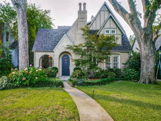 5314 Monticello Avenue, Dallas, TX 75206 (MLS #14212025) :: NewHomePrograms.com LLC