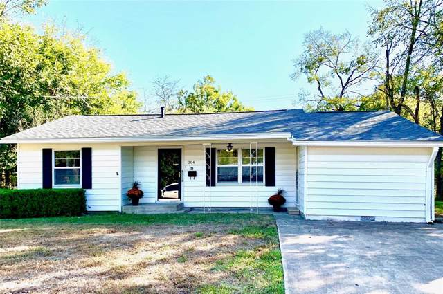 204 E 6th Street, Kaufman, TX 75142 (MLS #14212069) :: Robinson Clay Team